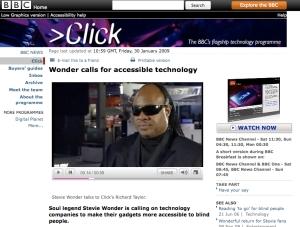BBC Interview with Stevie Wonder
