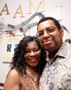 Dr. James Johnson and Pamela Johnson