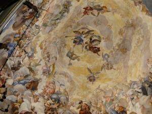 Ceiling of the Real Basilica De Nuestra Señora De Los Desamparados