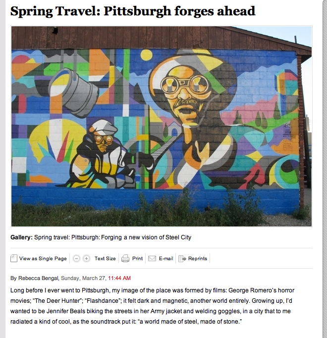Washington Post Features Locally Toned In Spring Travel